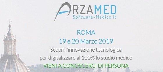 ArzaMed Roma dimostrazione software medico